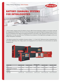 Fronius Battery Charging Systems