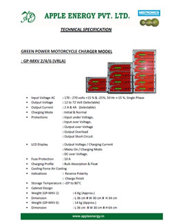 GP-MXV Technical Specification