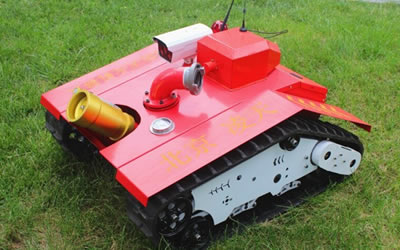 New Generation Firefighting Robot