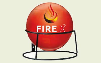 Fire X Fire Extinguisher Ball